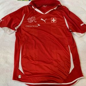 Official Puma Switzerland National Team Jersey